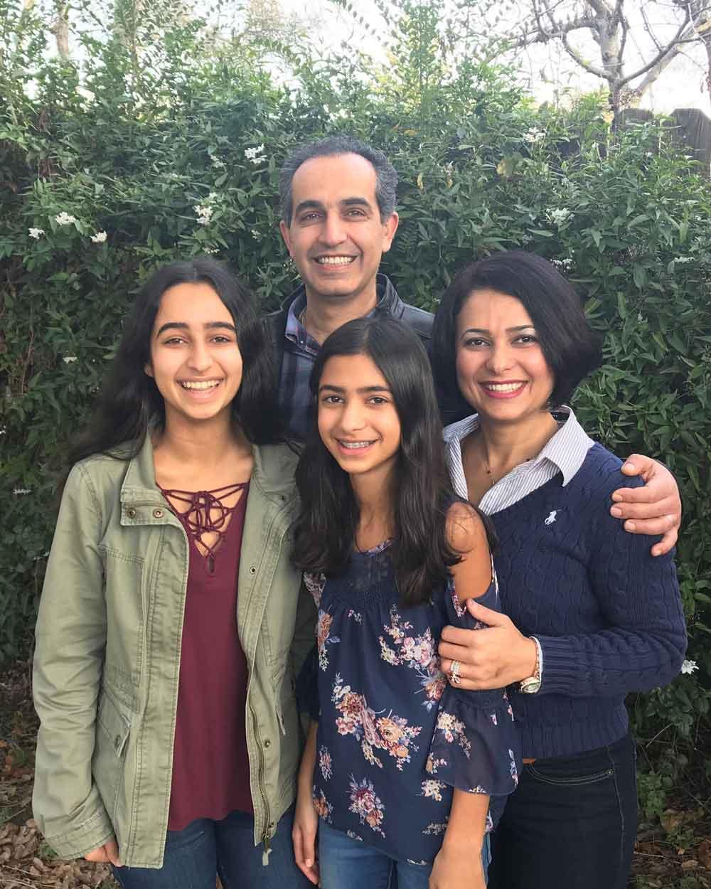 Dr. Abadi family